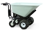Power Wheel Barrow with 10 Cubic Foot Dump Hopper