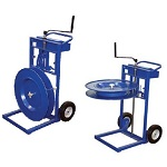 Vertical and Horizontal Applicator Strapping Cart