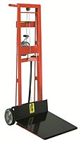 Two Wheel Hand Winch Lift Platform Stacker thumb