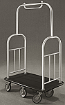 Glaro Deluxe Bell Man Cart - Round Curve Top thumb