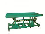 """5,000  lb 36""""W x 120""""L  -  33"""" -  53"""" Lift Hydraulic Foot Operated Lift Table   thumb"""