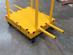 Indoor/Outdoor Safety Dolly Cart with Locking Casters