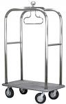Stainless Steel Boardwalk Bellman Cart thumb