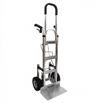 "60"" Dual Grip ControlPro Brake Hand Truck with Stair Climbers thumb"
