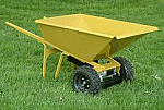 Battery Powered Wheel Barrow 7.5 Cubic Feet