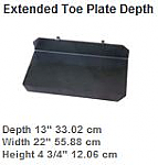 Extended Toeplate For Powermate L-1 Hand truck  thumb