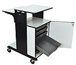 Heavy Duty Presentation Stations With Storage Trays