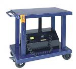 "4000lb, 24"" x 36"" Electric Battery Power Lift Table thumb"