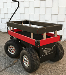 "Motorized Outdoor Wagon 20"" x 40"""
