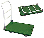 Plastic Platform Trucks with Fold Down Handle thumb