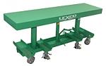 """2,000  lb 20""""W x 120""""L  -  30"""" -  48"""" Lift Hydraulic Foot Operated Lift Table   thumb"""