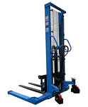 2000lb Manual Fork Lift Truck with Outrigger Legs thumb