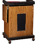 SCL Smart Cart Lectern with Sound
