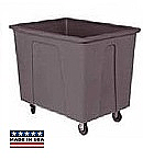 8 Bushel 64 Gal. Plastic Box Cart