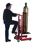 Gas Cylinder Hydraulic Lift