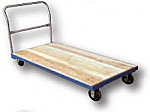 Wood Platform Truck with Steel Frame thumb