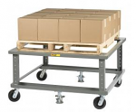 Adjustable Height Mobile Pallet Stand thumb