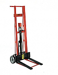 Two Wheeled Hydraulic Fork Lift Truck