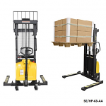 Stackers with Combined Manual and Electric Lift thumb