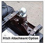 Hitch Attachment For Outdoor Motorized carts thumb