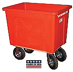 16 Bushel 128 Gal. Plastic Box Cart