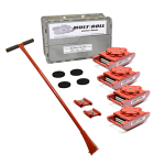 MultiRoll Mark TL5 Roller Skid Kit - 120,000 Lbs Capacity thumb