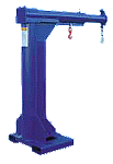 Vestil Telescoping High Rise Jib Boom Crane Forklift Attachment 4000lb thumb