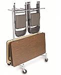 Compact Chair And Table Cart thumb
