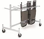 Short Hanging Folding Chair Cart thumb