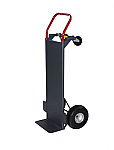 "Convertible Hand Truck With Deck & 10"" Pneumatic Wheels thumb"