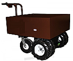 Metal Hopper Electric Power Cart