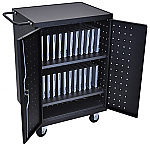 24 Laptop / Chromebook Charging Cart Station  thumb