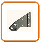 Right Hand Axle Bracket Replacement for Wesco Spartan hand Trucks  thumb