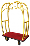Monarch Angel Style Bell Cart Brass Tubes with Red Carpet thumb