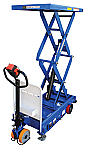 Power Drive and Power Lift Hydraulic Scissor Carts