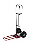 "Steel Hand Truck- 26"" Nose Plate Extension-10"" Pneumatics or Puncture Proof Tires"