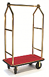 CSL Triangular Top Bellman Cart-Gold/Red thumb