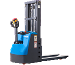 Fully Powered Electric Stacker - 2600 lb Capacity