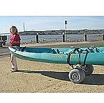 Wheeleez Kayak Cart with Big Tires for the Beach thumb
