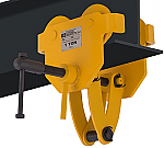 OZ 2000lb Capacity Beam Trolley with Clamp thumb
