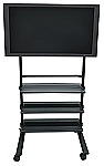 Universal LCD Flat TV Mobile Carts thumb