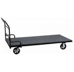 Dolly for Rectangular Tables with Carpeted Platform