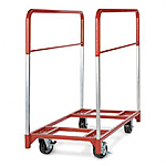Round Folding Table Cart and Mover