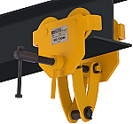 OZ 20,000lb Capacity Beam Trolley with Clamp