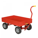 "Steel Garden Cart with 6"" Sides"