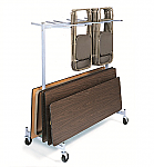 Table and Chair Cart Storage Truck
