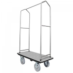 Ex-Cell Bellman Cart with Chrome Uprights