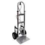 52'' Vertical Loop Hydraulic Brake Hand Truck with Stair Climbers thumb