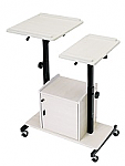 Economy Presentation Cart with Cabinet thumb