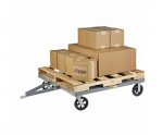 Towable Solid Deck Pallet Dolly